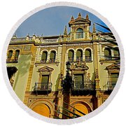 Hotel Alfonso Xiii - Seville Round Beach Towel