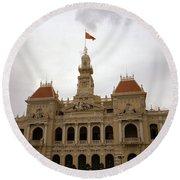 Hotel De Ville Saigon Round Beach Towel
