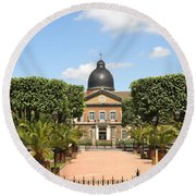 Hotel Dieu - Macon Round Beach Towel