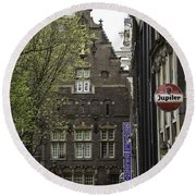 Hotel The Globe Amsterdam Round Beach Towel