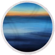 Hour Of Dreams Round Beach Towel