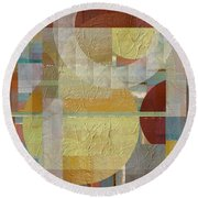 House Divided Two Round Beach Towel