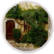House Saint Paul De Vence France Dsc02353  Round Beach Towel