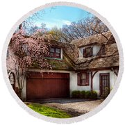 House - Westfield Nj - Who Doesn't Love Spring  Round Beach Towel