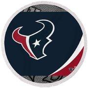 Houston Texans Round Beach Towel