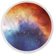 Hubble - Helix Nebula Comet - Like Filaments Round Beach Towel