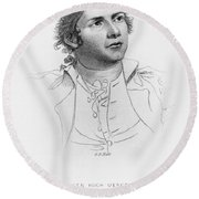Hugh Mercer (1726-1777) Round Beach Towel