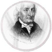 Hugh Williamson (1735-1819) Round Beach Towel