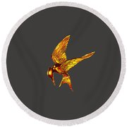 Hunger Games Round Beach Towel