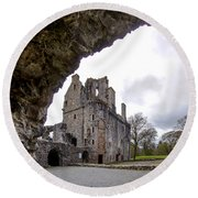Huntly Castle - 6 Round Beach Towel
