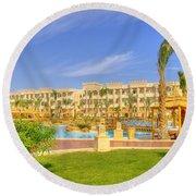Hurghada Hotel 02 Round Beach Towel