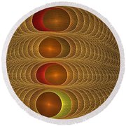 Hyperopsis 8400-4400 Round Beach Towel