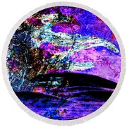 I Am... The Heros Journey We Each Take To Discover Our Own Purpose And Reason For Being- Autumn 6 Round Beach Towel