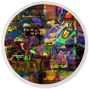 I Believe In The Coming Of Mashiach 32 Round Beach Towel