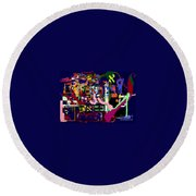 I Believe With Complete Faith In The Coming Of Mashiach 4 Round Beach Towel