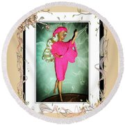 I Had A Great Time - Fashion Doll - Girls - Collection Round Beach Towel