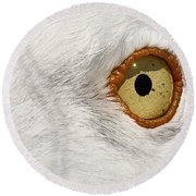 I Have My Eye On You Round Beach Towel