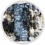 Ice Number Two Round Beach Towel