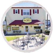Icehouse Waterfront Restaurant 3 Round Beach Towel