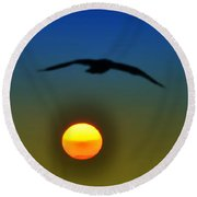 If I Could Fly Round Beach Towel