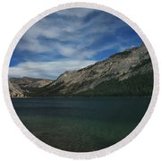 If I Spent Forever Here Round Beach Towel by Laurie Search