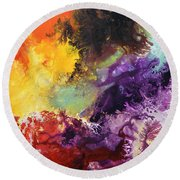 Ignition 2 Round Beach Towel