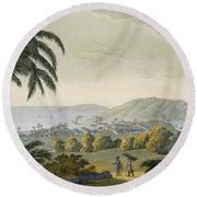 Ilheus Round Beach Towel