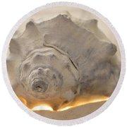 Illumination Series Sea Shells 7 Round Beach Towel
