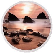 Illusions Round Beach Towel
