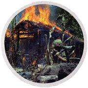 Images Of Vietnam Round Beach Towel