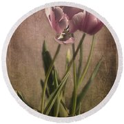 Imperfect Beauty Round Beach Towel