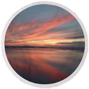 Imperial Fire Round Beach Towel