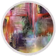 Imperissable  Round Beach Towel by Francoise Dugourd-Caput