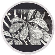 In Endless Ways Round Beach Towel