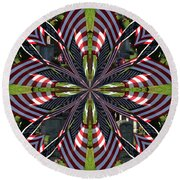 In Memory Round Beach Towel
