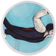 In The Air Round Beach Towel