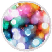 In The Light Round Beach Towel