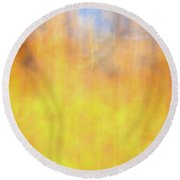 In The Wind Round Beach Towel