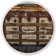 In This Old Chest Round Beach Towel