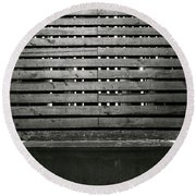 In This Space #2 Round Beach Towel