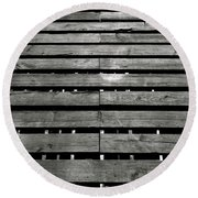 In This Space #3 Round Beach Towel