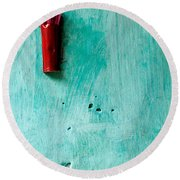 Incense 04 Round Beach Towel
