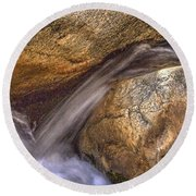 Indian Canyons 11 Andreas Canyon Round Beach Towel
