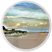 Indian River Inlet - Delaware State Parks Round Beach Towel
