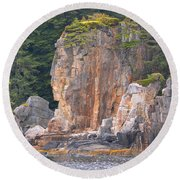 Indian Rock  Round Beach Towel