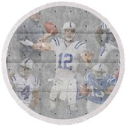 Indianapolis Colts Team Round Beach Towel