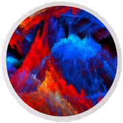 Inducers Round Beach Towel