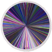 Infinity Abstract Round Beach Towel