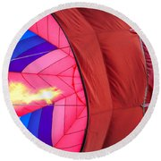 Inflation Round Beach Towel