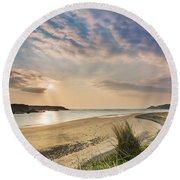 Inishowen - Donegal - Ireland Round Beach Towel